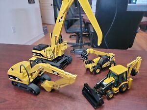 Caterpillar W345B MH, 320L, TH360B, Backhoe 1:50 Scale NORSCOT Die-Cast NO BOX