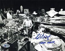 CHARLIE BAILEY SIGNED 8x10 PHOTO ILM MODEL MAKER STAR WARS VERY RARE BECKETT BAS