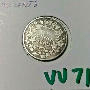 1862 NEW BRUNSWICK 20 CENTS   vv71