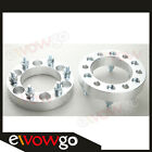 """2PC 32mm 1.25"""" 6x139.7 to 6x139.7 Wheel Spacers Adapters 32mm 12x1.5 Studs"""