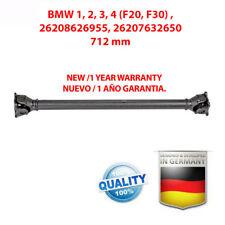 Albero Trasmissione Cardanico BMW 1, 2, 3, 4 (F20, F30) , 26208626955 NEW !!