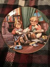 "M.J. Hummel Plate - Little Champions Collection - ""Budding Scholars"""