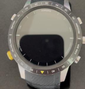 Garmin MARQ Athlete Titanium Case Black Strap Watch - (010-02006-15)