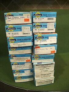 HO Scale Model Train Empty Box Lot of 18  Athearn boxes