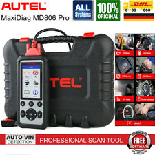 Autel MD806 Pro Profi Diagnosegerät für 45 Fahrzeugmarken ALLE SYSTEM OBD2 MD808