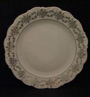 "Romance by Bavarian Crest Fine Porcelain Bavaria Germany 10 1/2"" Dinner Plate"