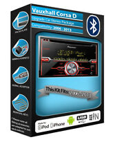 Opel Corsa D Lecteur CD, Pioneer Autoradio aux USB, Kit Main Libre Bluetooth