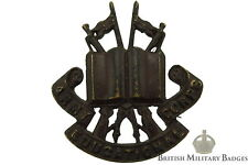 Army Educational Corps OFFICERS Bronze Collar Badge - Education RAEC Royal