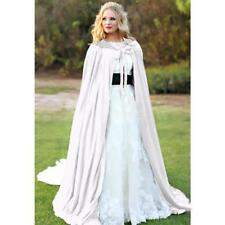 Adult Kids Halloween Party Costume Vampire Witch Velvet Cape Hooded Cloak G3G6