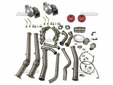 Auturbo Twin Turbo Manifold Donwpipe Kit For 04-06 Pontiac GTO Holden Monaro LS1