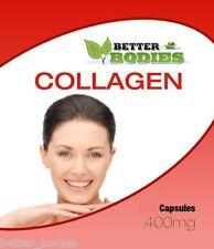 Colágeno marino 180 X capsulas de 400mg Skincare Anti Envejecimiento mejor organismos