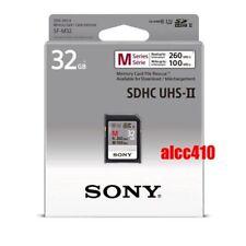Sony 32GB SD SDHC Memory Card Read 260MB/s Class 10 U3 4K UHS-II SF-M32 AU