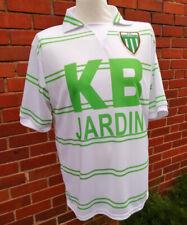 St Etienne retro style football soccer shirt