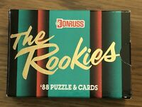 1988 Donruss The Rookies Factory Sealed Set 56 Cards Puzzle New Unopened