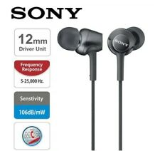 Original SONY MDR-EX255AP Headphone 3.5mm Wired Earbuds Music Earphone Headset