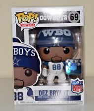 Funko NFL Dez Bryant Wave 4 Dallas Cowboys 2017 Home Uni Vinyl Figure #69 - NEW