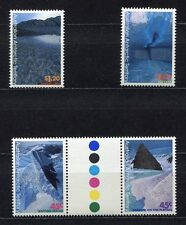 s3431a1) AUSTRALIAN ANTARCTIC1996 MNH** Landscape paintings 4v