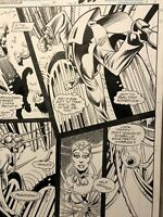 RURIK TLYAR MARVEL COMICS DARKHOLD #10 ORIGINAL ART PAGE 25