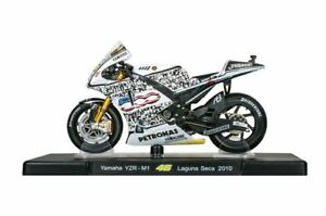 VALENTINO ROSSI Yamaha YZR-M1 2010 MotoGP Bike - Collectable Model - 1:18 Scale