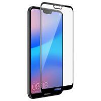 Protector de pantalla Huawei P20 Lite Cristal templado Dureza 9H - Borde Negro