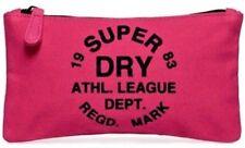 Superdry Pencil Case Athletic League School / Uni / Work Makeup 100% Genuine New