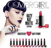 (1) Covergirl Katy Perry Katy Kat Matte Lipstick, You Choose!