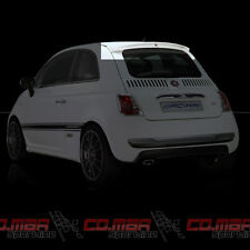 00551 SPOILER POSTERIORE ALTO FIAT 500 NEW by ORCIARI