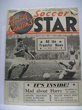Raich Carter's Soccer Star Magazine. June 12, 1954. Newington High School Team P