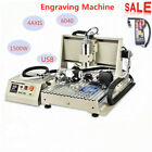 4Axis USB CNC 6040 1500W Router Engraving Cutting Drilling Machine+REMOTE