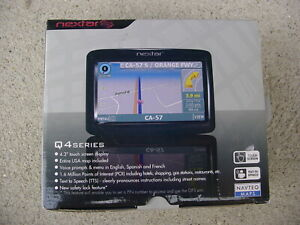 "Nextar GPS Q4 Series 4.3"" TOUCH SCREEN"