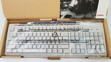 HP Compaq PS/2 Genuine Wired Keyboard White English 122659-008 KB-9963