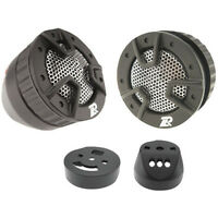 "NEW 1"" Flush Mount Auto Tweeters.w/ Crossover.One inch Speaker PAIR.4 ohms.Highs"
