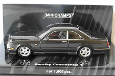BENTLEY CONTINENTAL T 1996 BLACK MINICHAMPS 436139941 1/43 LIMITED EDITION 1008