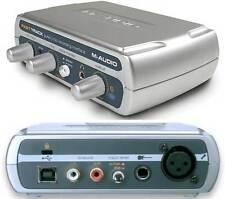 M-Audio Fast Track USB Guitar/Mic Recording Interface