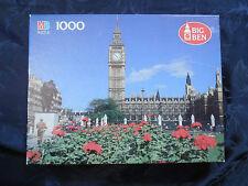 Milton Bradley 50th Anniversary Puzzle Big Ben London England 1991 Rare Sealed