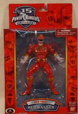 "Power Rangers Wild Force 15th Anniversary 6.5"" Red Ranger Bandai (MISB) 2007"