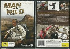 MAN VS WILD WITH BEAR GRYLLS THE LAST FRONTIER DISCOVERY CHANNEL NEW 2 DVDS