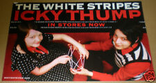 White Stripes Icky Thump Huge Sticker/Poster for cd Jack&Meg 2007 Promo Item