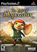 The Tale of Despereaux Sony Playstation 2 PS2 Video Game 2008 New Sealed