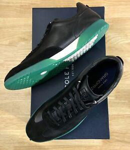 Cole Haan GrandPro Turf Sneaker Black / Green Translucent C29169 Men's Size 11