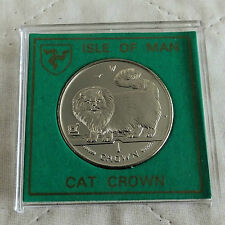 Isle of Man 1997 long haired fumée Cat preuve Couronne-Spink Style Case