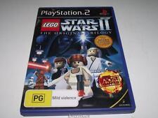 Lego Star Wars II the Original Trilogy PS2 PAL Preloved *Complete*