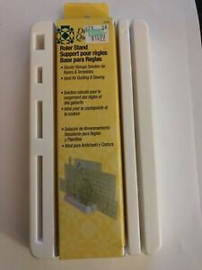 dritz acrylic quilting ruler stand