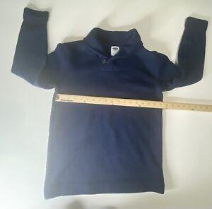 Gap Boy's Navy Blue Shall Sweater Size 14-16 Orig.$35 (34x24)