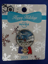 Pin's Pin Hard Rock Cafe Paris - snow globe snowglobe - 2015 - Lim 150ex