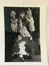 Jimi Hendrix press photo 8 X 10 B&W