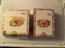 New ListingRomeo Y Julieta Cigar Boxes Empty Lift Lid Used Lot Of 2