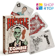 BICYCLE ZOMBIE PLAYING CARDS DECK FUNNY ZOMBIES APOCALYPSE HALLOWEEN MADE IN USA