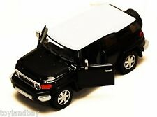 Toyota FJ Cruiser SUV Sports Utility Vehicle 1:36 Scale Diecast Model Black NEW