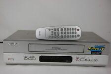Philips VR550 6-Kopf VHS Videorecorder Videorekorder PAL-NTSC VCR